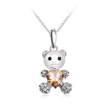 OUXI fashion chinese 952 silver children jewelry necklace Y30062