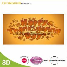 Bulk Paper Thanksgiving Day Greeting Card