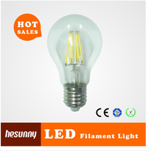 2015 hot sale residential lighting 8w led filament bulb