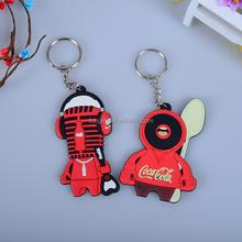wholesale acrylic 3D reflective led key ring key chain/rubber Jordan metal souvenir keychain/custom soft pvc keychain