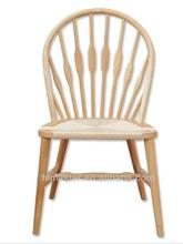antigüedades venta caliente de madera maciza pequeño pavo real hans wegner silla sin brazo