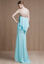 2015 Fashion organza bridemaid dress