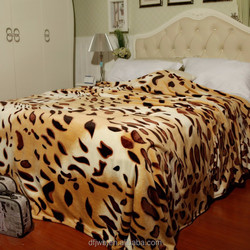 shrink-resistent pretty blanket or garment hometextile fabric