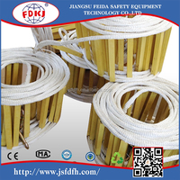 fire escape soft twisted nylon rope ladder for emergency