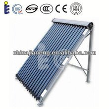 Heat pipe solar power collector