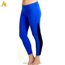 Dry fit nylon spandex wholesale custom Never Crack Printing women tights