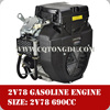 electric start air cooled 22hp 690cc gasoline v twin engine 2v78f