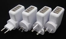 for iPhone Charger EU Type US Type for USB Devices Wall Plug for Travelers