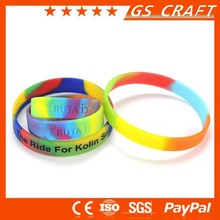 OEM logo! Famous nice quality colourful rubber band