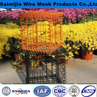stone cage nets used welded gabion box