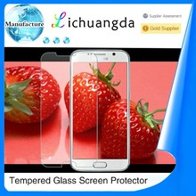 Newest premium 2.5D tempered glass screen protector for samsung galaxy mobile phone accessory paypal accepted ( OEM / ODM )