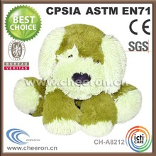 Cute soft cheap plush animal dog toy