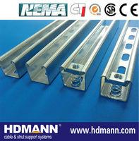 stainless steel unistrut channel sizes manufacturer