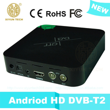 android digital Thailand Guangdong manufacturer support full hd wifi t2 box