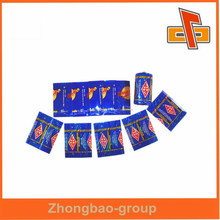 100% raw material heat sensitive plastic wrap for battery with logo print