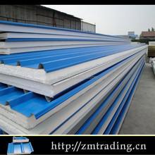 blue roof EPS siding sandwich panel