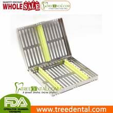 B007 instrumento Dental caja de desinfección para 10 instrumentos dentales Dental casete de china