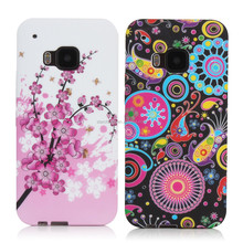 Wholesale phone accessory fancy designs soft tpu back case for Htc one m9