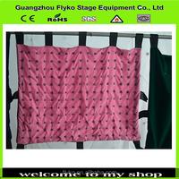 Full color rgb night club decorative curtain