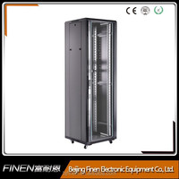 Economy High quality 19 inch server rack dimensions supplier for Patch Panels and Switches