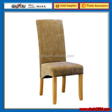 Y 5978 Wooden Frame Fabric Surface Dining Chairs Made in China