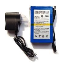 OEM long life cycle lithium ion battery 12v li-ion batteries pack with 12.6V AC li ion battery charger for LED panel