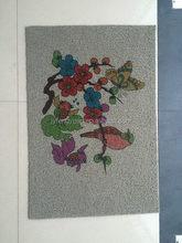 Top quality stylish branded logo flooring mat