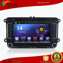 Wecaro HD 1024*600 Android Car Dvd Navigation System For Volkswagen Passat B5 Car Radio TV Dvd