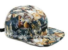 fashion plain 5 panel supreme caps hats