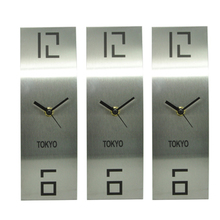 Metal World Time Wall Clock