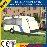 FV-78 size of food cart trailer mobile food vans food vending tricycle