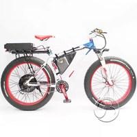 48V 1500 wattage snow electric fat tire bike