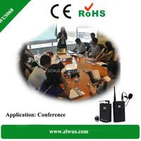 2.4Ghz Wireless Communication System for conference and tourism tour guide