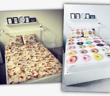 fullprint Bedding bag quilt cover pillowcase 3d digital print bedding set