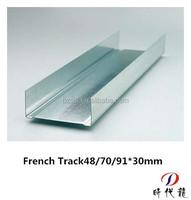 French standard ceiling drywall metal tracks