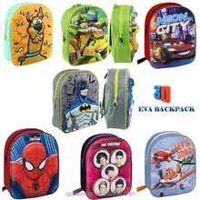 Wholesale 2015 brand 3D EVA effect child school bag, child backpack bags