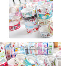 2014 promotion stationery tape with cartoon