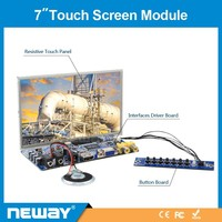 """Advertise touch screen 7"""" vga lcd module"""
