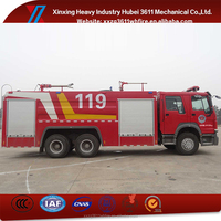 China Manufacturer Hot Sale Dry Powder Foam Combination Best Quality Fire Fighting Turntable Rescue Truck