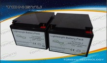 SLA replacement 12V LiFePO4 Battery 25Ah For Medical / Military / Wireless Facilties