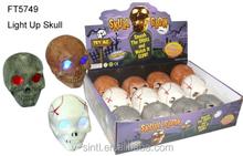2015 New Design Halloween skull glow, Scary skull glow, funny skull glow