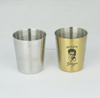 stainless steel smaller wine cup shot glass