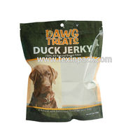 High quality resealable animal feed packaging bag