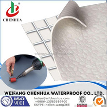 PVC single ply roofing, PVC waterproof membrane for terraces