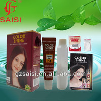 Only for export dye for hair color mahogany