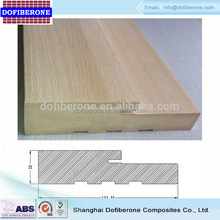 high density high nail holding solid wpc/ pvc/ vinyl door jamb and frame