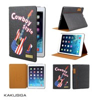 H&H professional tablet case manufacture flip jean case for ipad 2/for ipad 2 jean case