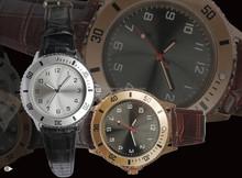 2015 rocawear retro design alloy case pu band PC movement classic casual watch for men