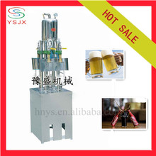 Four heads carbonated beer filling machine
