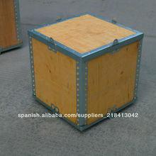 Reutilizables de envío madera cajones/jaulas embalaje para la venta